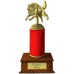 CE General Admission Gold Trophy