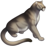 Mountain Lion (Silver)